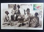 CP carte postale Afrique Gabon Causerie autour de la marmite