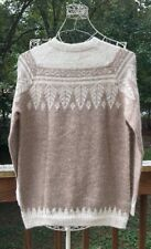 Andean Mountain Imports Wool Sweater Hand Made Peru Size M-L