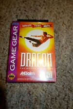 Dragon: The Bruce Lee Story (Sega Game Gear, 1993) NEW Factory Sealed