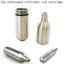 PPS Steel 12g rechargeable CO2 cartridge (empty) refill gas PPS 98K Airsoft Mag