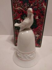 Vintage 1981 Avon Tapestry Collection Dove Shape Porcelain Bell Nib!