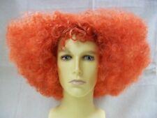 Mixed Orange Frizzy Mad Hatter Wig Alice in Wonderland Hatta Tarrant Hightopp