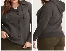 f80b86a57ff New ListingTorrid Gray Double Breasted Bomber Jacket 0X Large 12  49791