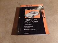 1994 Toyota Paseo Shop Service Repair Manual OEM