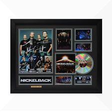 Nickelback Signed & Framed Memorabilia - 1CD - Black/Green Edition -  NEW
