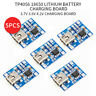5pcs USB C TP4056 1A Lithium LiPo 18650 Battery Charger w/ Discharge Protection!