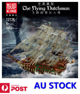 Mould King 13138 The Flying Dutchman Pirate Ship Movie Pirates of the Caribbean