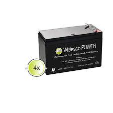 Battery Pack 4 APC SmartUPS RBC8 RBC23 RBC24 RBC25 RBC31 SU1400RMXL3U 1400RMNET