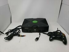 Original Microsoft Xbox Console Bundle Tested and Working