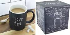 Tazza in ceramica con lavagna Chalkboard Mug 300ml Includes chalk by Paladone