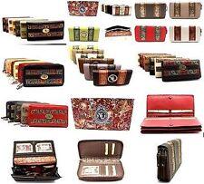 Wholesale Lot of 10 YL Women Clutch Wallet Zip Around Purse New in Gift Box
