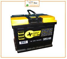 LONGLIFE- Batteria per auto 45Ah Dx 360A pronta all'uso Massima qualità