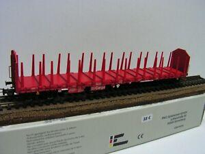 PIKO - WAGON PLAT A RANCHERS - Roos-t 642 - DB AG