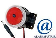 Sirène pour alarme 12 Volts modèle  MS-120 mini (filaire)  Neuf  !