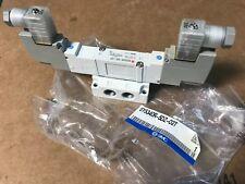 NEW SMC SY5340R-5DZ-02T Dual Solenoid Pneumatic Control Valve 3-Position 24VDC
