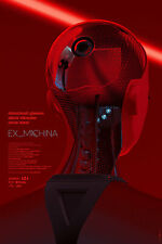 Laurent Durieux Ex Machina Regular Poster MONDO Print Alex Garland Film LE /275