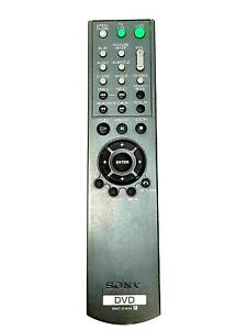 Sony Remote Control RMT-D141A DVD/Blu-ray Replacement Cleaned Tested OEM Genuine