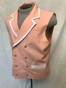 WDW  Disney's Grand Floridian Hotel cast member's costume uniform Victorian Vest