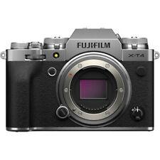 Fujifilm X-T4 Mirrorless Digital Camera Body only - Silver [Int'l Ver]