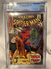 Amazing Spider-Man #54 (1967) CGC 3.0 Doctor Octopus Cover on White Pages!