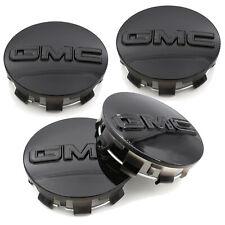 4pcs Gloss Black GMC Sierra Yukon Wheel Center Hub Caps 83mm #23357064 20942032