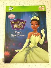 LeapFrog tag  book - disney princess and the frog - tiana's new dream