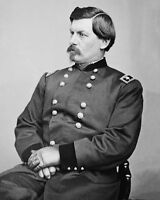 US Union Army General GEORGE B MCCLELLAN Glossy 8x10 Photo Civil War Poster