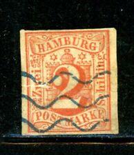 Hamburg Scott # 3 - Used - CV=$100.00 - Tear middle left