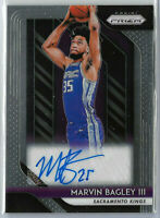 2018-19 MARVIN BAGLEY III Panini Prizm Rookie Signatures Auto #2 RC SP Kings