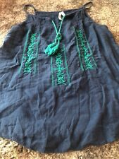 Girl Krazy Blue Tank Top Size Small