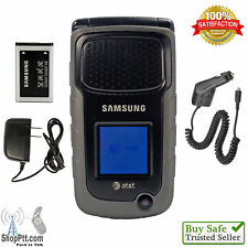 Samsung Rugby II SGH-A847 - Black (AT&T) Cellular Phone GSM No Data Plan