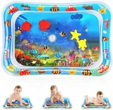 Water Baby Play Mat,Inflatable Infant Baby Toys & Toddlers, 26 X 20 inch