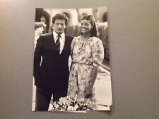 FAMILLE DE MONACO  - CAROLINE ET PHILIPPE JUNOT - PHOTO DE PRESSE  18x13cm