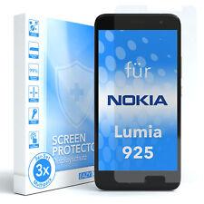 3x SCHUTZGLAS FÜR Nokia / Microsoft Lumia 925 PANZER DISPLAYFOLIE ECHT GLAS 9H
