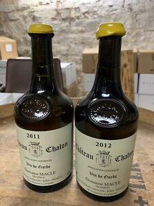 Lot 2 Chateau Chalon Macle 2012 Et 2011