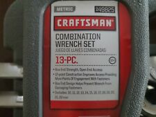 New Craftsman 13 Pc Metric Combination Wrench Set 10mm To 22mm