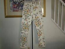"""Citizens of Humanity by Jerome Dahan """"Mandy"""" Floral High Waist Retro Pants Sz 26"""