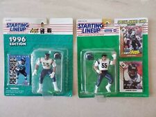 1993 Kenner 1996 STARTING LINEUP Hit Man Junior Seau Lot (2) San Diego Chargers