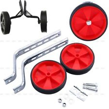 """US Bicycle Bike Cycle Kids Children Stabilisers 12""""- 20""""inch Training Wheels Red"""