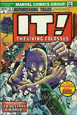 Astonishing Tales #23 (Marvel Comics, Apr 1974) 6.0 F  It! the Living Colossus