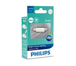Philips 11854ULWX1 - Ultinon LED Festoon 38mm 12V White fits Citroen BX 1.4, ...
