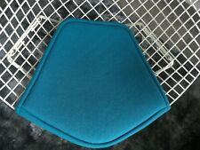 Bertoia sedia Diamond da Knoll imbottitura del sedile, in Kvadrat tonicità col. VERDE ACQUA, ORIGINALE