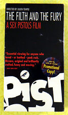 Filth and the Fury - A Sex Pistols Film ~ New VHS Movie Screener Promo Demo Tape