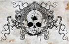 Skull Baby Illuminati Fetal Tentacle Octopus Fetus Creepy Art Print Poster 11x17