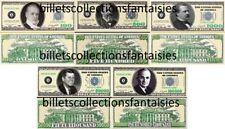 LOT de 5 Billets différents : POKER - MONEY # 2. Commémoration / Collection