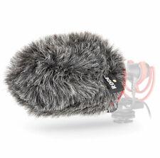 Rode WS11 Protección contra el Viento de Piel Para Videomic Ntg Micrófono Cámara