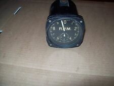 BU AERO US NAVY WWII TACHOMETER MARK V BY SQ D P1187