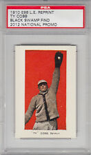 "1910 E98 L.E. RP Ty Cobb ""Lucky 7"" Black Swamp Find 2012 National Promo PSA"