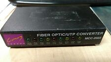 Canary Fiber Optic / UTP Converter MCC-2022 Used and Working