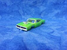 1st Edition Fast Furious GREEN 1969 Dodge Charger R/T Slot Car Body X Traction